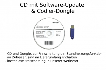 Software-Update CD Codier-Dongle